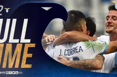 Serie A- Caicedo all'ultimo respiro, Lazio corsara in casa del Sassuolo (1-2)
