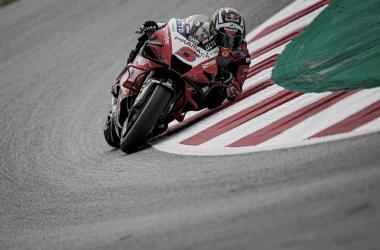 Johann Zarco durante los entrenamientos en Montmeló / Fuente: motogp.com
