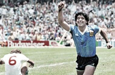"""""""EL GOL DEL SIGLO""""- Diego Armando Maradona 22/06/1986 Mundial de México"""