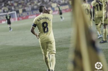 Santi Cazorla marcó uno de los cinco goles del Villarreal al Betis (5-1), siendo su cuarto gol | Foto: LaLiga