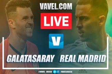 Galatasaray x Real Madrid AO VIVO hoje pela Champions League 2019 (0-1)