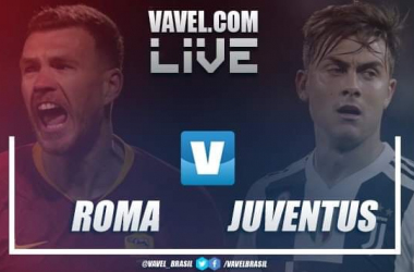 Gols e resultado Roma e Juventus pelo Campeonato Italiano