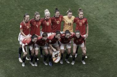 Once español para disputar la segunda jornada del Mundial de Francia 2019 / Foto: FIFA