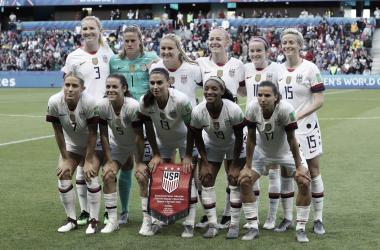 Divulgação: U.S Soccer WNT