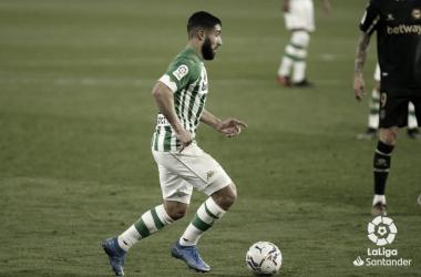 Fekir realizando una conducción | Foto: La Liga