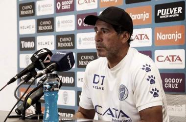 Conferencia de prensa de Marcelo Gómez