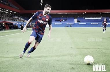 Abel Ruiz ante el FC Andorra | Foto: Noelia Déniz (VAVEL)
