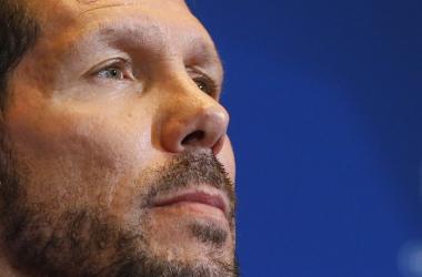 """Simeone: """"Estoy orgulloso de mis jugadores"""""""