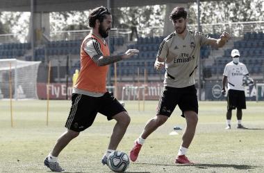 El Real Madrid inicia su tercera semana de entrenamiento
