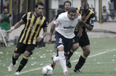 Último enfrentamiento 17/02/2012 Quilmes 1- Almirante Brown 0