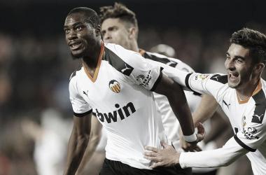 Geoffrey Kondogbia llega al centenar de partidos con el Valencia