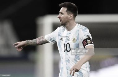 Fecha 1- Copa América 2021- Argentina 1 - Chile 1