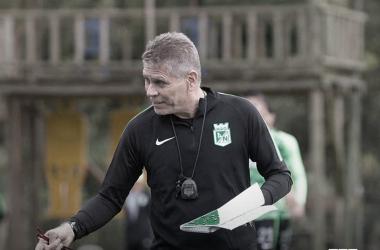 Nacional prepara el juego del próximo miércoles contra Deportes Tolima en Ibagué. Foto: Atlético Nacional