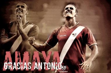 Montaje por la despedida de Amaya. Foto: RayoVallecano S.A.D.