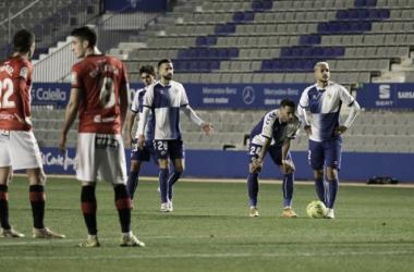 El CE Sabadell FC no pasó del empate ante la UD Logroñés (0-0)   Foto: CE Sabadell FC