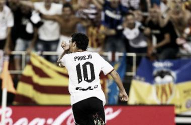 A temporada de Parejo: o grande líder do Valencia
