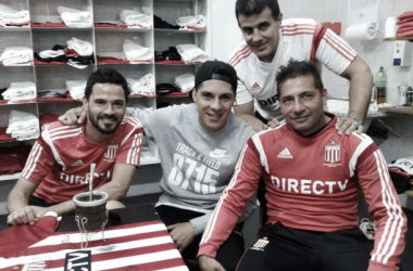 Enzo Pérez, uno de los tantos que visitaron City Bell. Foto: Edlp Oficial.