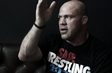 Kurt Angle talks about many things including his favourite performers in wrestling (image: joe.ie)