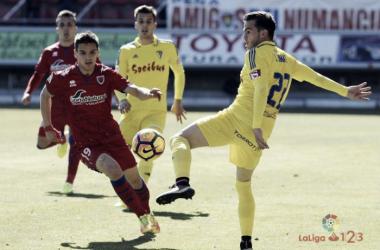 Ruiz de Galarreta fue el jugador que más balones robó de toda la Liga 123 la pasada campaña. Imagen: La Liga