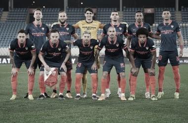 UD Almería - Sevilla FC; puntuaciones de los cuartos de final de la Copa del Rey