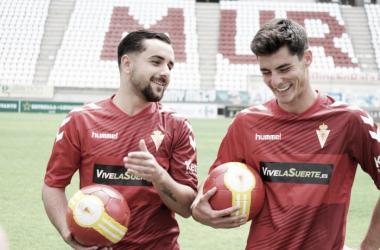 Jon Iru y Daniel Mauri firman por el Real Murcia