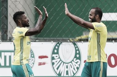 Imagem do ultimo treino realizado neste sábado (04). Foto:Divulgação Palmeiras