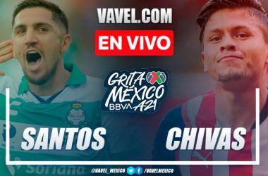 Resumen: Santos Laguna 0-0 Chivas en Liga MX Apertura 2021