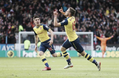 Arsenal's Team of the Season: Aaron Ramsey