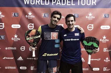 Lebrón y Belluati a semifinales I Foto: Marta Vavel Padel