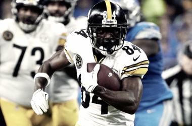Antonio Brown mete la quinta   Foto: NFL.com