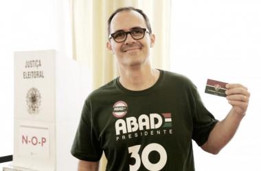 Abad quer mudar a maneira de administração do Fluminense (Foto: Divulgação/Fluminense FC)
