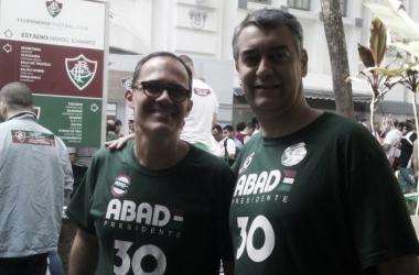 Pedro Abad e Cacá Cardoso formarão a 'dupla' que comandará o Fluminense no próximo triênio (Foto: Marcello Neves/VAVEL Brasil)