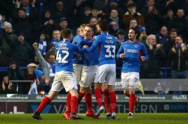 Tranmere Rovers 0-2 Portsmouth: Kenny Jackett's side record their eighth win in a row against struggling Tranmere.