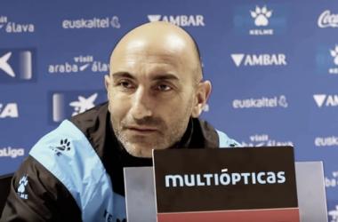 """Abelardo: """"Juegue quien juegue, el equipo lo está haciendo muy bien"""""""