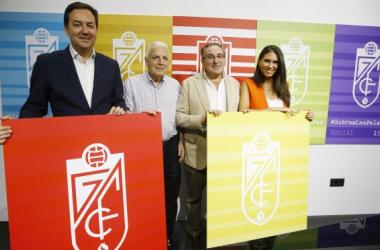 Presentación de la campaña de abonados del Granada CF . Foto: Pepe Villoslada / Granada CF