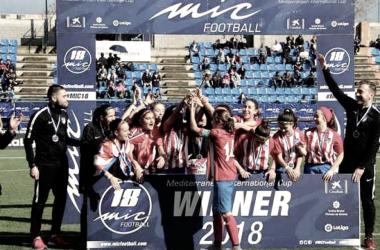 Fin de semana de triunfos para las categorías inferiores del Atleti