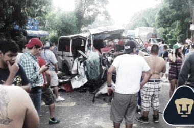 "Integrantes de la ""Rebel"" sufren accidente regresando de Honduras"