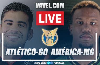 Gols e melhores momentos de Atlético-GO x América-MG (1-1)