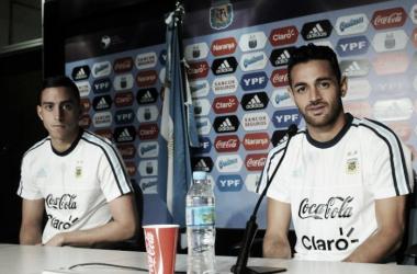 Lautaro Acosta y Ramiro Funes Mori (Foto: Telam)