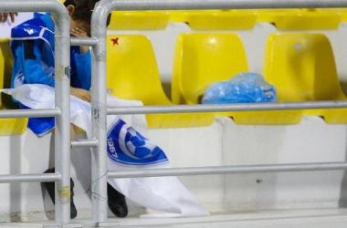 بكاء طفل هلالي بعد خساره من الريان القطري