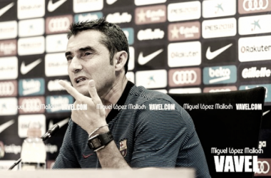 """Valverde: """"Hemos jugado bien a todos los niveles"""""""
