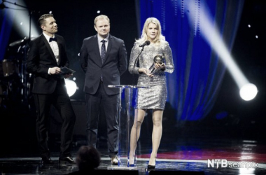 Ada Hegerberg is named the best football player in Norway.  Jon Olav Nesvold / NTB Scanpix