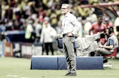 """Adam Nawalka: """"Perdimos contra un equipo muy fuerte y hay que aceptarlo"""" Fuente: Sitio Oficial de la Selección de Polonia."""
