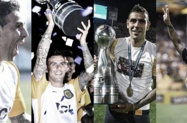 Recopilación de los mejores momentos de Herrera en Central, con goles a Newells y título incluído. El Chacho decidió hoy ponerle fin a su carrera&nbsp;<div>Foto: Central Vavel</div>
