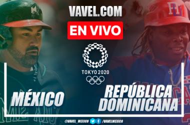 Resumen y carrera: México 0-1 República Dominicana en béisbol por Juegos Olímpicos 2020