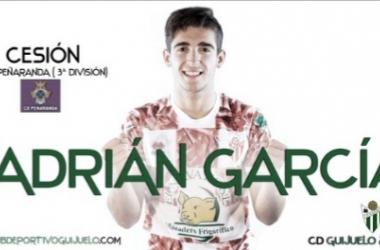 Adrian García, cedido al Peñaranda. Foto: CD Guijuelo