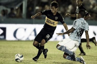 Cubas, de gran partido ante Temperley, quiere ganar la Libertadores con el 'Xeneize'. Foto: TN.