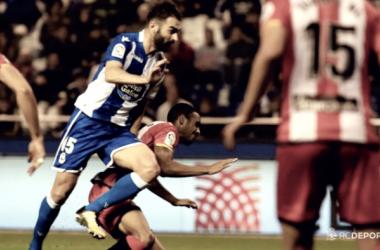Adrián, el mejor contra el Athletic
