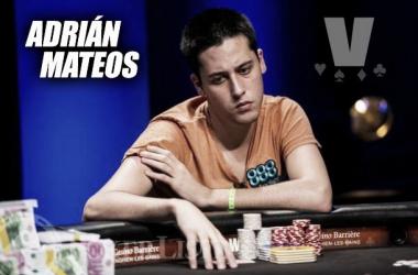 Adrián Mateos, poco antes de proclamarse campeón (Foto: WSOP).