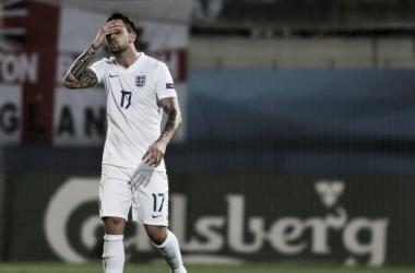 Ings, la viva imagen del Europeo inglés. Foto: UEFA.com